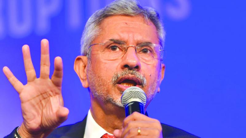 External Affairs Minister S Jaishankar put forth five points he is working on and highlighted India's role in the global arena during the dinner hosted by him here on Saturday, according to the Ambassador of Iceland to India, Gudmundur Arni Stefansson. (Photo: File)