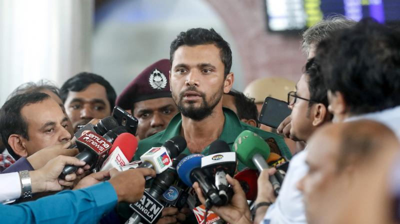 Mashrafe Mortaza said a lack of consistency by some of the players, coupled with poor luck, hurt the team's prospects in the tournament.  Mashrafe Mortaza himself struggled with form in the tournament, picking up just one wicket in eight matches. (Photo:AFP)