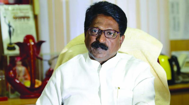 Shiv Sena MP Arvind Sawant (Photo: (Rajesh Jadhav)