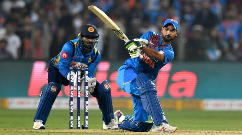 To go with a winning combination or give much needed game time to Sanju Samson and Manish Pandey? That is the dilemma India are facing ahead of the third and final T20 against Sri Lanka here on Friday. (Photo:AFP)
