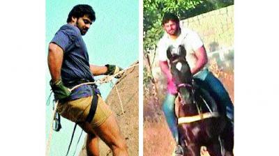 Prabhas learnt rock climbing, kick-boxing, horse-riding and sword fighting for his role. To enhance his physical appearance, every morning and evening he worked out for muscle gain.