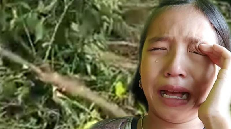 The video clip of her crying went viral in social media. (Photo: Facebook)