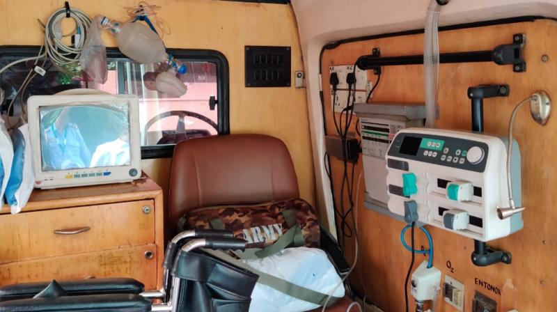 The procedure for availing the ambulance service has been explained in an SOP (standard operating procudure) shared with the participating RWAs.