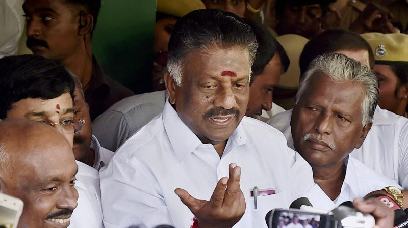 O Panneerselvam (Photo: PTI)