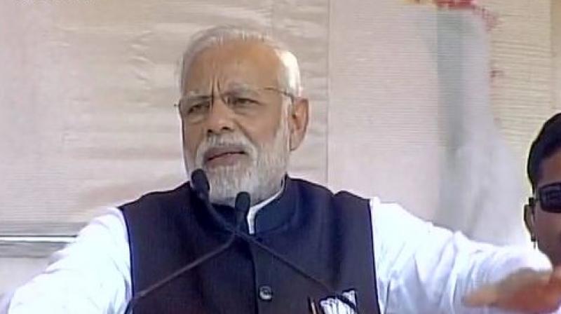 Prime Minister Narendra Modi. (Photo: ANI/Twitter)
