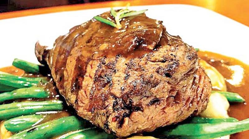 The perfect steak always gets me. I've been dating medium-rares for a long time now and it's hard not to fall in love with them once you've experienced that 'beefgasm' over a good cut of meat.