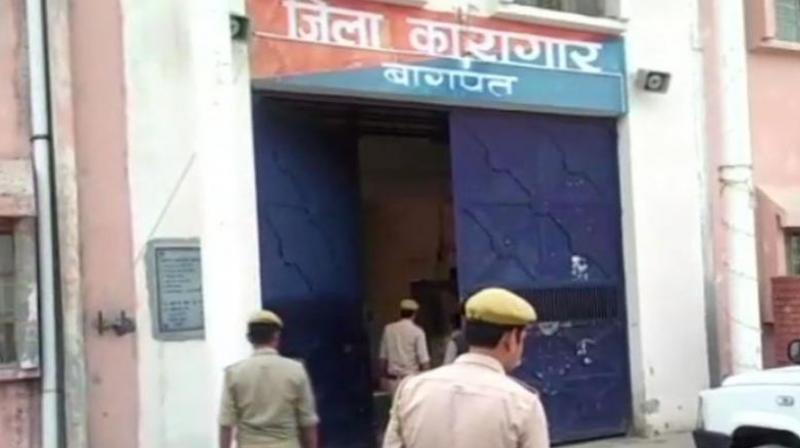 Police sources said Bajrangi was shot dead allegedly by Sunil Rathi, a rival gangster lodged in the same jail, at 5.30 am on Monday. (Photo: ANI)