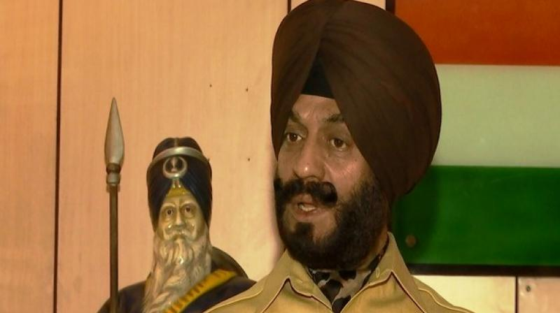 'I dare you to come to India. You are an ISI agent collecting fund from them. He is misleading innocent people there. People like him are bringing disgrace to Sikhs across the world,' he said. (Photo: ANI)
