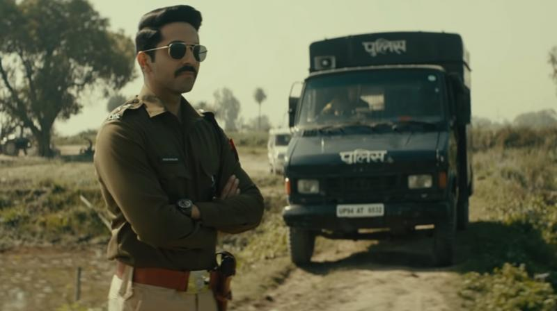 Ayushmann Khurrana featuring in Article 15 teaser. (Photo: YouTube/Zee Music Company)