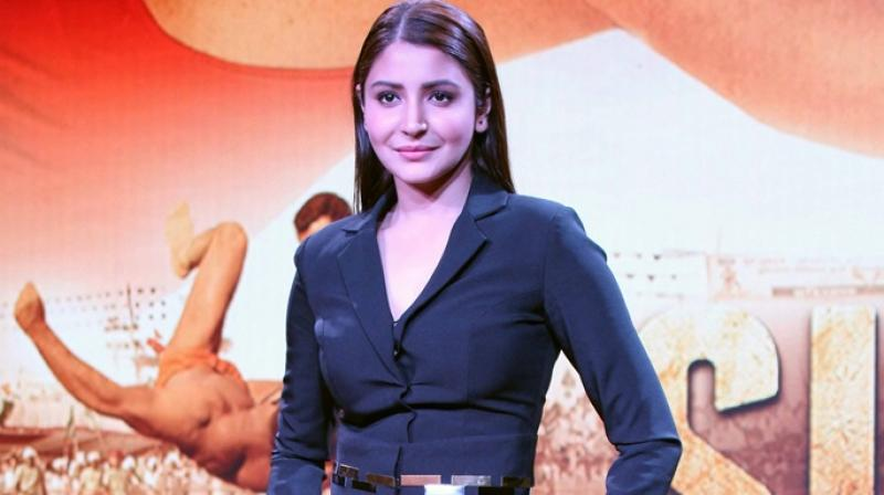 Anushka Sharma while promoting one of her films as an actress. (Photo: File)