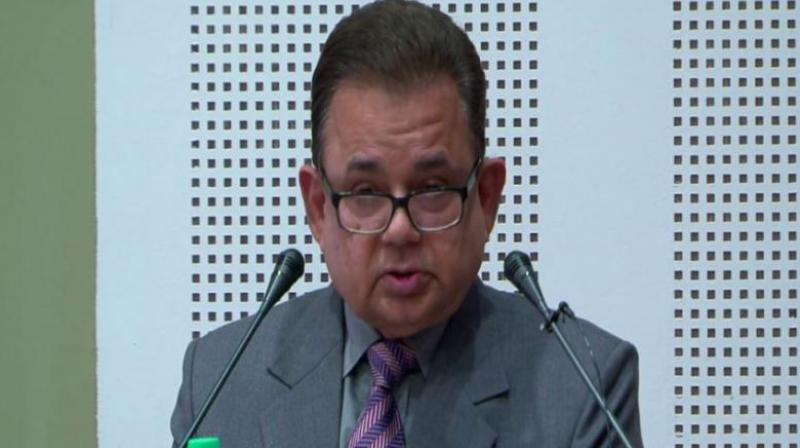 India's nominee to the International Court of Justice Dalveer Bhandari was re-elected to the last seat of the world court on Monday after Britain withdrew its candidate from the election. (Photo: Youtube   Screengrab)