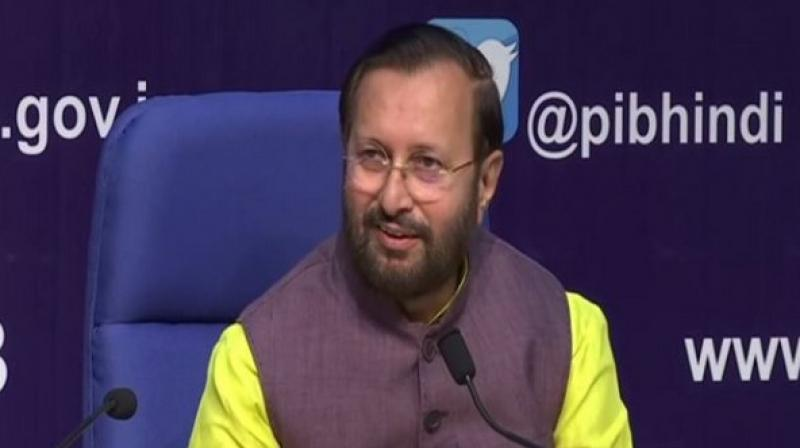 Union Environment and Climate Change Minister Prakash Javadekar on Saturday urged Delhi Chief Minister Arvind Kejriwal to take measures to tackle air pollution in national capital instead of indulging in 'blame-game'. (Photo: File)