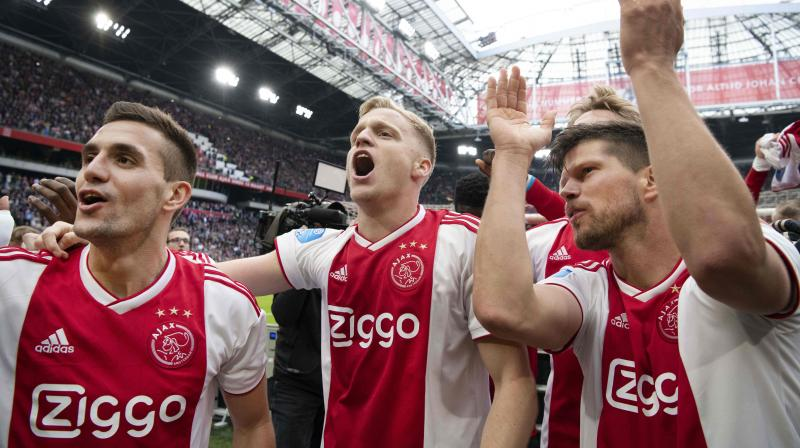 Ajax round out the season with a trip to second-bottom De Graafschap on Wednesday while PSV host Heracles. (Photo: AFP)