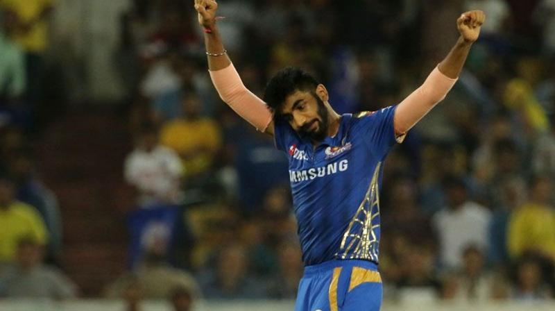 Bumrah ended this IPL edition with 19 wickets from 16 matches with an impressive economy rate of 6.63. (Photo: BCCI)