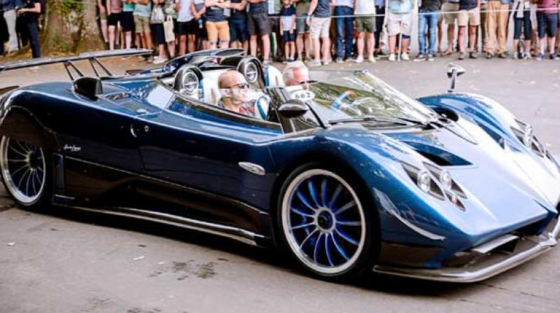 Italian sports car manufacturer Pagani Automobili has launched its latest hyper-car the Pagani Zonda HP Barchetta at a price tag of whopping Rs 122 crore. (Photo: FC)