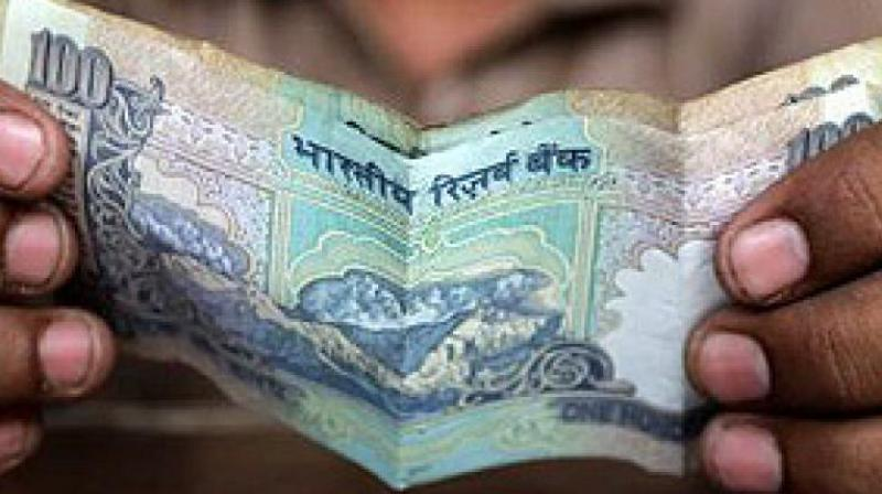 A higher opening in the domestic equity market supported the rupee. (Photo: AP)
