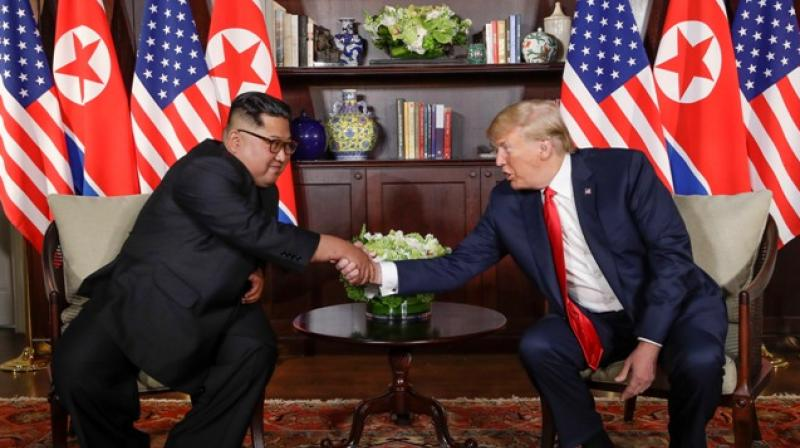 Trump said he had formed a 'special bond' with Kim, whom he described as 'very talented'. (Photo: File/AP)