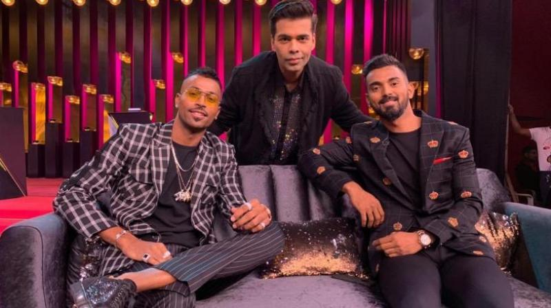 Earlier this year, one saw this happening with the flamboyant Hardik Pandya, whose misogynistic comments about women on Karan Johar's Koffee with Karan, landed him in a soup.