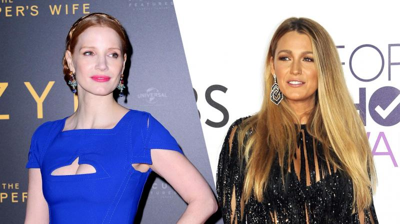 Jessica Chastain and Blake Lively.