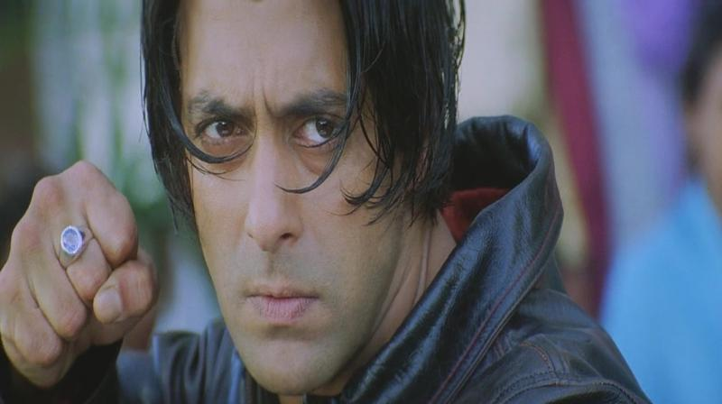 Salman Khan in the still from Tere Naam. (Photo: IMDb)