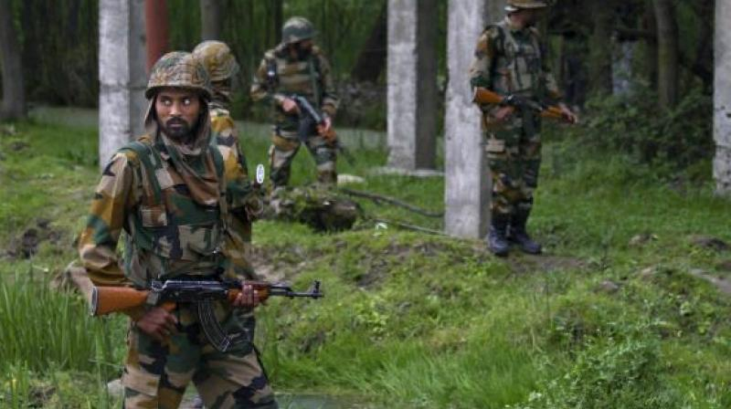 Yesterday, militants opened fire outside the residence of a senior police officer in Khudwani area of Kulgam and prior to that, militants had also barged into the houses of cops and threatened their families. (Photo: Representational Image)