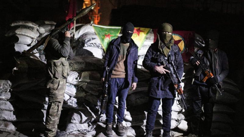 Members of the Kurdistan Workers' Party. (Photo: AP)