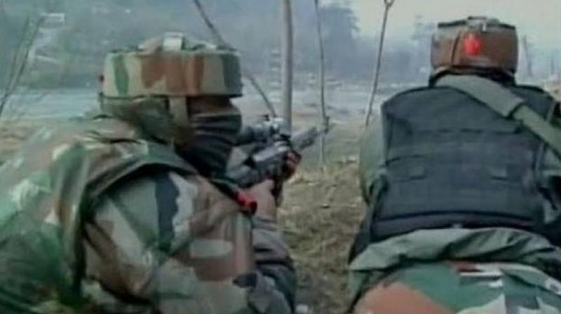 Last week, Pakistani troops had opened fire in the Poonch and Bhimbher Gali Sectors. (Photo: ANI/Representational)