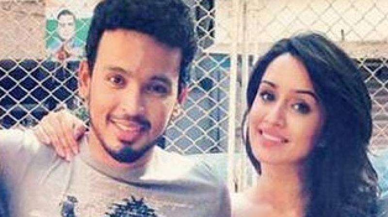 Shraddha Kapoor with Rohan Shrestha. (Photo: Instagram)