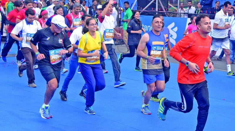 The streets of South Mumbai will be filled with over 42,000 runners in the Mumbai Marathon on January 21.