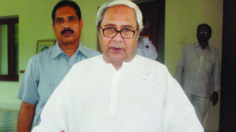 CM Naveen Patnaik dubbed BJP as party that 'talks more and does less' and alleged that Congress was 'responsible for the bankruptcy' of Indian economy. (Photo: File)