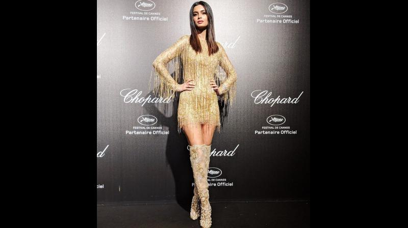Diana Penty at Cannes 2019. (Photo: Instagram)