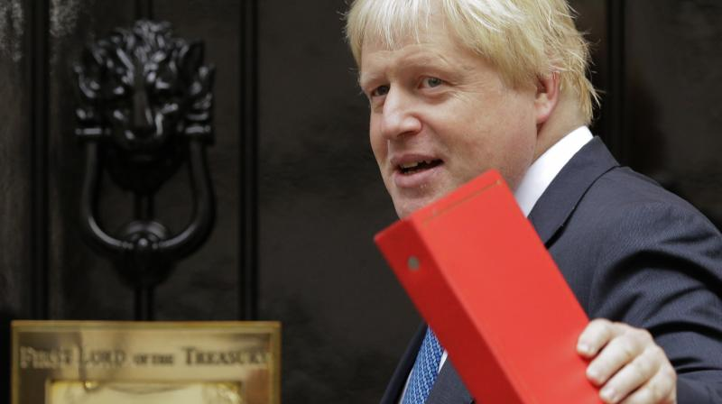'I think Boris would do a very good job. I think he would be excellent,' Trump told the Sun. (Photo:AP)