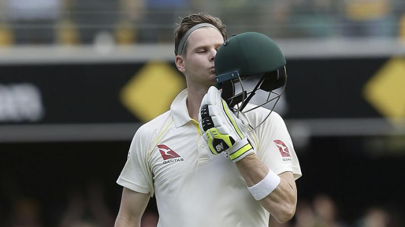 Australia head into the fourth Test at Old Trafford starting Wednesday hoping Steve Smith and the boxer Muhammad Ali can revive their campaign.(Photo:AP)