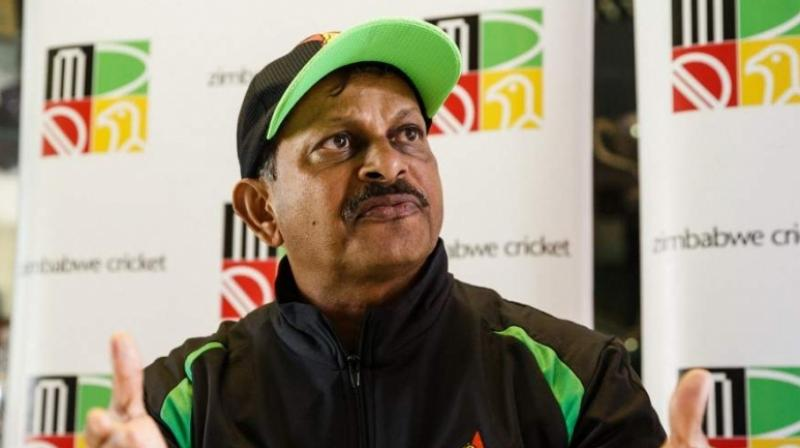 It has been learnt that Lalchand Rajput, who was manager of the Indian team that lifted the inaugural T20 World Cup in South Africa in 2007, has sent his application to the BCCI before the stipulated deadline from Dubai airport, while he was on his way to Canada. (Photo:AFP)