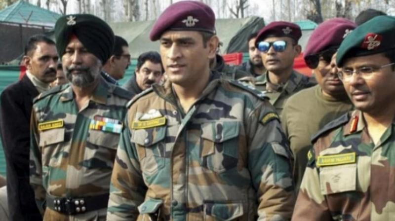 Currently, Dhoni is in Kashmir, training with the paramilitary forces. He is expected to be there till August 15.  (Photo:Twitter)