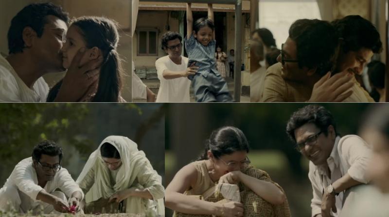 Screengrabs from 'Nagri Nagri' song from 'Manto.'