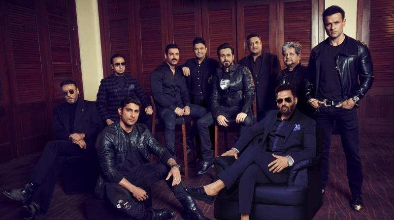 Mumbai Saga cast. (Photo: Twitter)