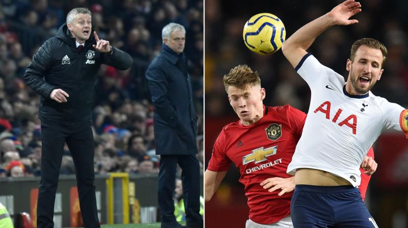 """Manchester United manager Ole Gunnar Solskjaer and Tootenham Hotspur Manager Jose Mourinho say Scott McTominay has become virtually """"undroppable"""" after the midfielder produced another dominant display in Wednesday's 2-1 victory over Tottenham Hotspur. (Photo:AP/AFP)"""
