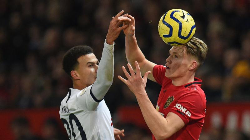 Tottenham Hotspur midfielder Dele Alli says it may have been a combination of 'arrogance and over-confidence' that caused his side's 2-1 defeat by Manchester United in the Premier League on Wednesday. (Photo:AFP)