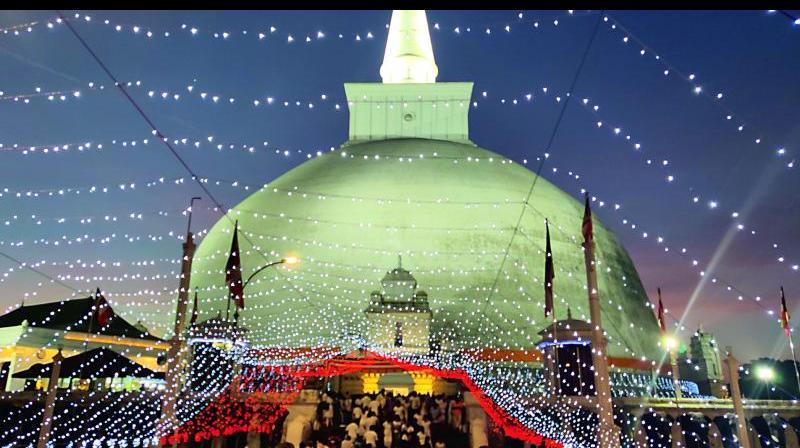 The Ruwanwelisaya Stupa
