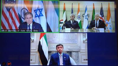 New Mideast 'Quad' takes shape as Israel, UAE join India and America