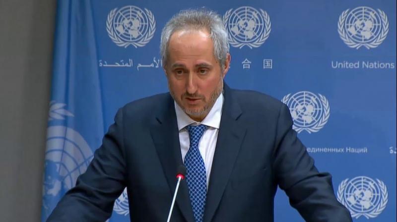 UN Spokesperson Stephane Dujarric (Photo: Youtube)