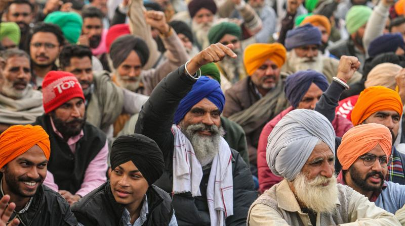 Majority of the Punjabi singers have supported the farmers in the ongoing protest. (Photo:PTI)