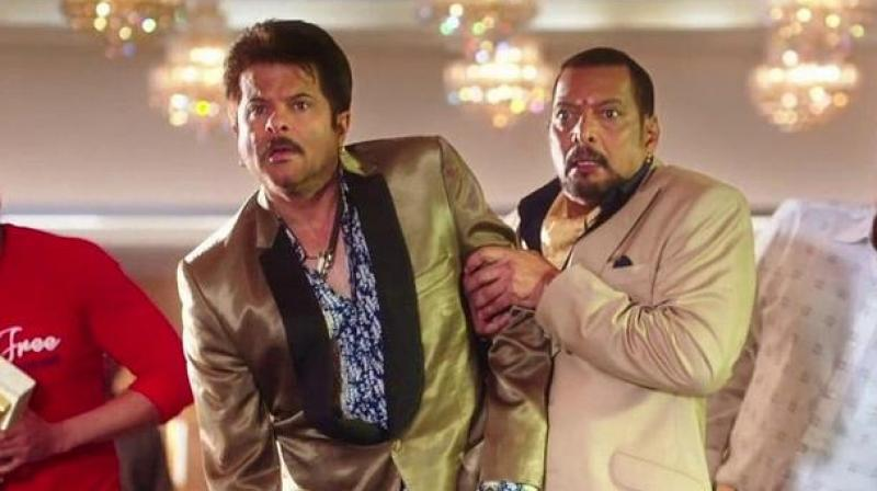 Anil Kapoor and Nana Patekar in Welcome.