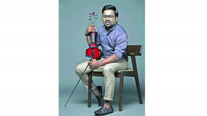 Kerala based violinist and composer Abhijith PS Nair