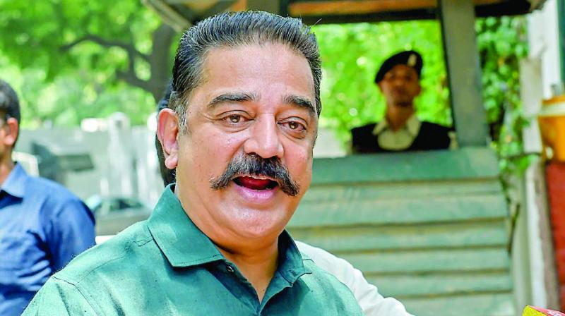 Haasan, however, denied allegations and claimed that his speech was 'misquoted with malafide intent'. (Photo: File)