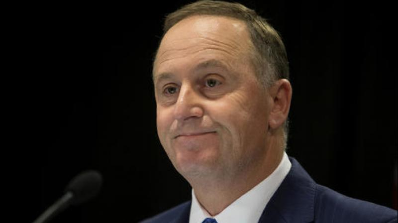 New Zealand Prime Minister John Key announces his decision to resign and stand-down from politics at a press conference in Wellington, New Zealand. (Photo: AP)