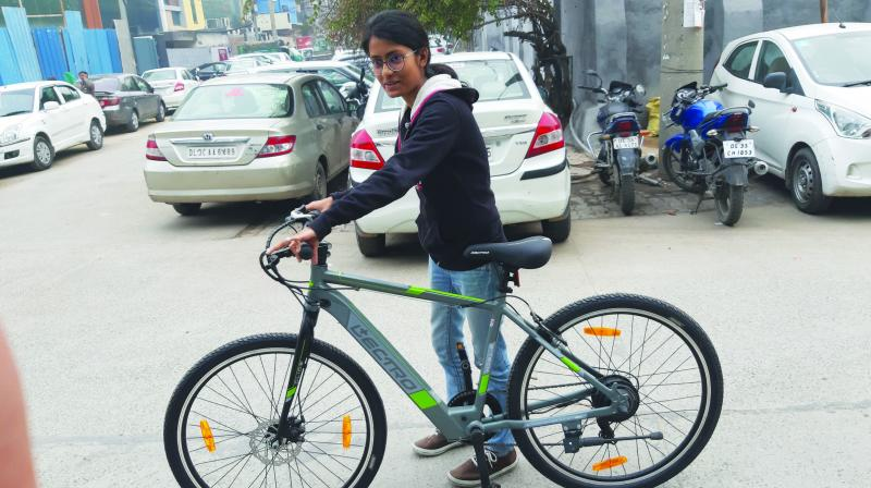 E-bikes being recently launched in India, the creators and innovators hope to address the problems of pollution and bring about a healthy lifestyle for Delhiites.