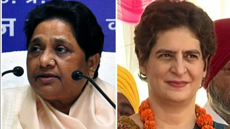 Slamming the Yogi Adityanath government, Priyanka Gandhi accused it of maintaining silence for two years and asked money of which departments have been put in 'defaulter companies'. (Photo: ANI)