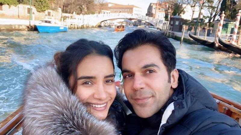 Rajkummar Rao and his girlfriend Patralekhaa too are having the time of their lives in Switzerland.